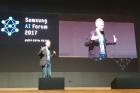 Заведующий лабораторией Дмитрий Ветров на форуме SAMSUNG по искусственному интеллекту