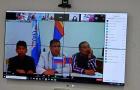 Видеоконференция с Монголией