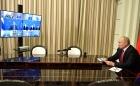 Владимир Путин провел совещание по вопросам развития космической отрасли (в режиме видеоконференции).