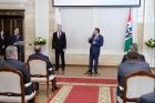 Вручение наград Новосибирской области