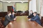 Участники встречи в Правительстве Новосибирской области