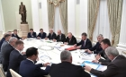 Встреча Владимира Путина с руководителями угледобывающих регионов.