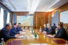 Встреча в Правительстве Республики Саха (Якутия). Фото М. Васильевой, ЯСИА