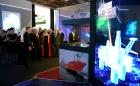 Владимир Путин на выставке «Россия, устремлённая в будущее»