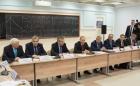Владимир Путин на встрече с учеными СО РАН 8 февраля 2018 года. Новосибирск, ИЯФ СО РАН