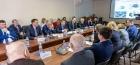 Заседание Президиума Иркутского филиала СО РАН, фото Владимира Короткоручко.